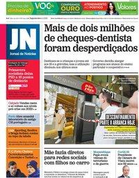 capa Jornal de Notícias de 5 abril 2021