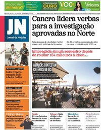 capa Jornal de Notícias de 6 abril 2021