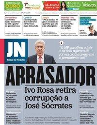 capa Jornal de Notícias de 10 abril 2021