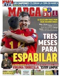 capa Jornal Marca de 1 abril 2021