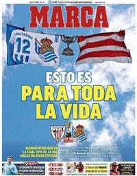 capa Jornal Marca de 3 abril 2021