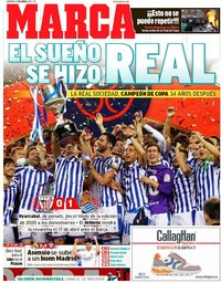 capa Jornal Marca de 4 abril 2021