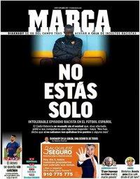 capa Jornal Marca de 5 abril 2021