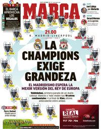 capa Jornal Marca de 6 abril 2021