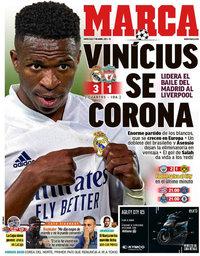 capa Jornal Marca de 7 abril 2021