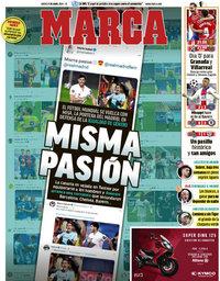 capa Jornal Marca de 8 abril 2021