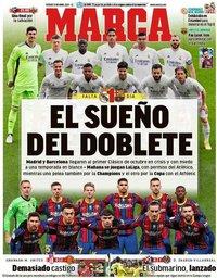 capa Jornal Marca de 9 abril 2021