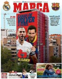 capa Jornal Marca de 10 abril 2021
