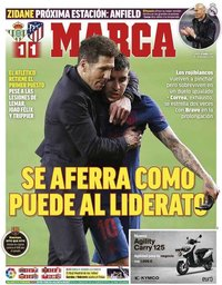 capa Jornal Marca de 12 abril 2021
