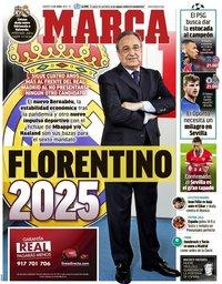 capa Jornal Marca de 13 abril 2021