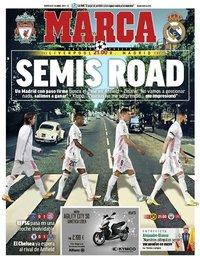 capa Jornal Marca de 14 abril 2021