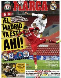 capa Jornal Marca de 15 abril 2021