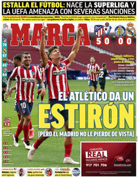 capa Jornal Marca de 19 abril 2021