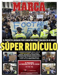 capa Jornal Marca de 21 abril 2021