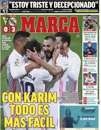 capa Jornal Marca de 22 abril 2021