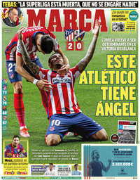 capa Jornal Marca de 23 abril 2021