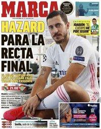 capa Jornal Marca de 24 abril 2021