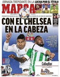 capa Jornal Marca de 25 abril 2021