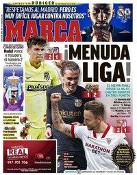 capa Jornal Marca de 26 abril 2021