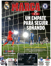 capa Jornal Marca de 28 abril 2021
