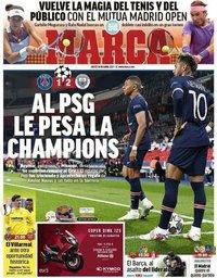 capa Jornal Marca de 29 abril 2021