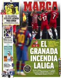 capa Jornal Marca de 30 abril 2021