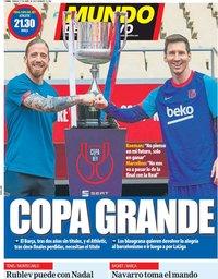 capa Jornal Mundo Deportivo