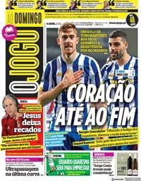 capa Jornal O Jogo de 4 abril 2021