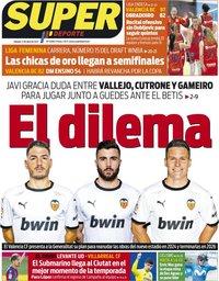 capa Jornal SuperDeporte