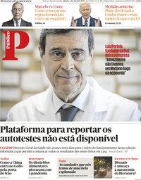 capa Público de 3 abril 2021