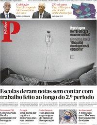capa Público de 4 abril 2021