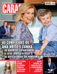 capa Revista Caras de 1 abril 2021