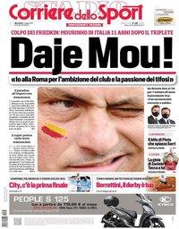 capa Corriere dello Sport de 5 maio 2021