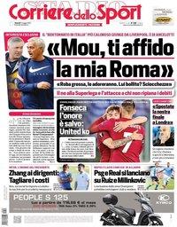 capa Corriere dello Sport de 7 maio 2021