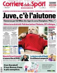 capa Corriere dello Sport de 17 maio 2021