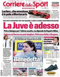 capa Corriere dello Sport de 23 maio 2021