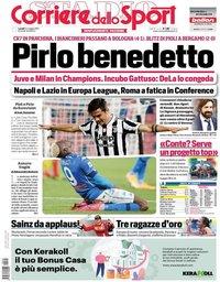 capa Corriere dello Sport de 24 maio 2021