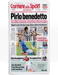 capa Corriere dello Sport de 25 maio 2021
