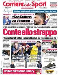 capa Corriere dello Sport de 26 maio 2021