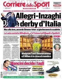 capa Corriere dello Sport de 28 maio 2021