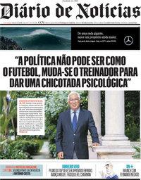 capa Diário de Notícias de 1 maio 2021