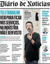 capa Diário de Notícias de 5 maio 2021
