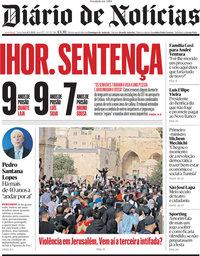 capa Diário de Notícias de 11 maio 2021