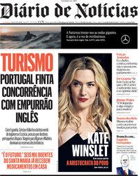 capa Diário de Notícias de 15 maio 2021