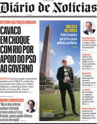 capa Diário de Notícias de 18 maio 2021