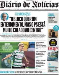 capa Diário de Notícias de 21 maio 2021