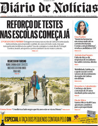 capa Diário de Notícias de 25 maio 2021