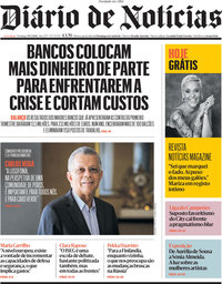 capa Diário de Notícias de 30 maio 2021