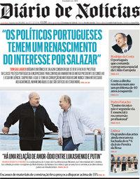 capa Diário de Notícias de 31 maio 2021