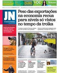 capa Jornal de Notícias de 3 maio 2021